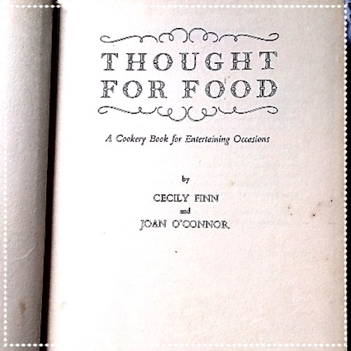 Thought For Food - July 2015