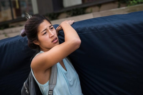 Former Columbia student Emma Sulkowicz claimed she'd been raped by fellow student in 2012, but that the university failed to take her seriously. HeR mattress protest followed.