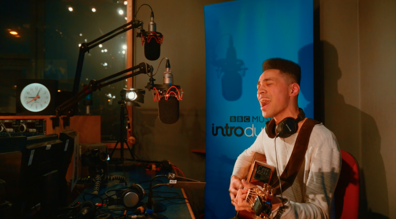 Rob in session for BBC Introducing last Saturday