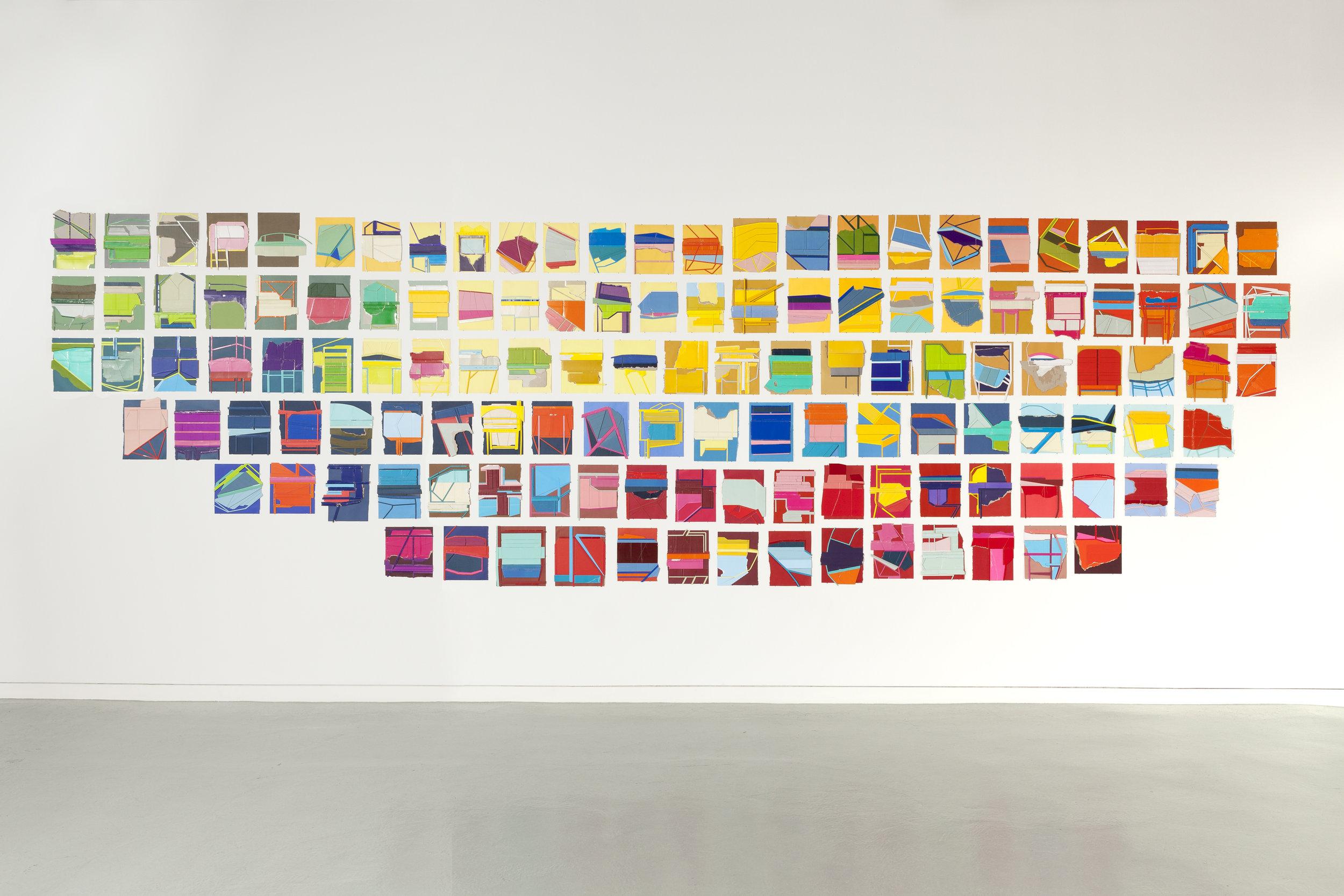 Pages , 2014-2016  Installation, ODETTA Gallery