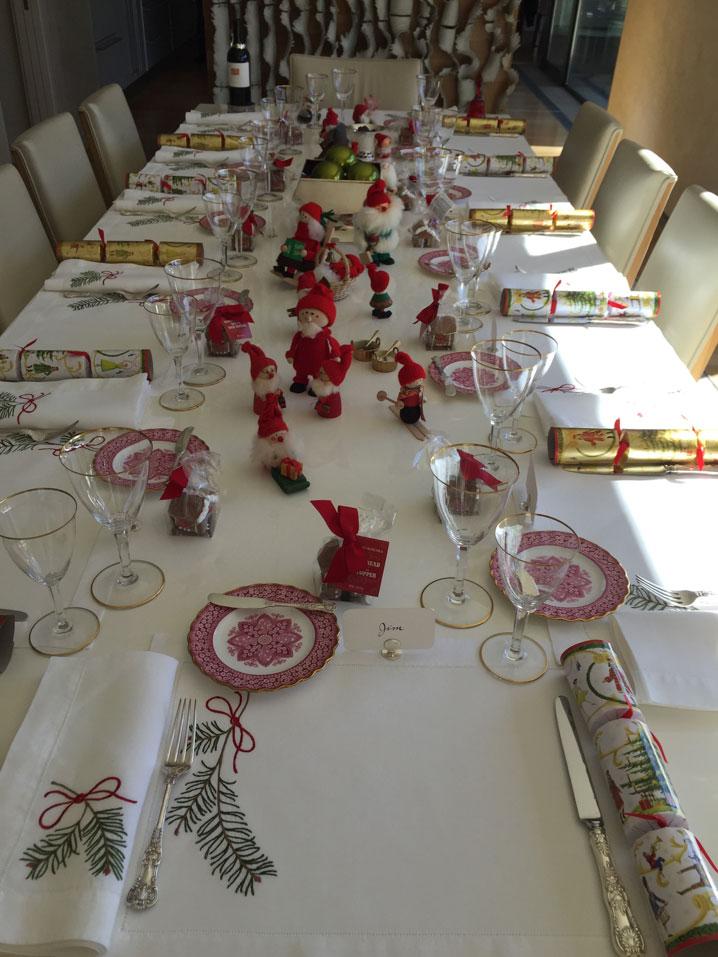 Caren's beautiful table