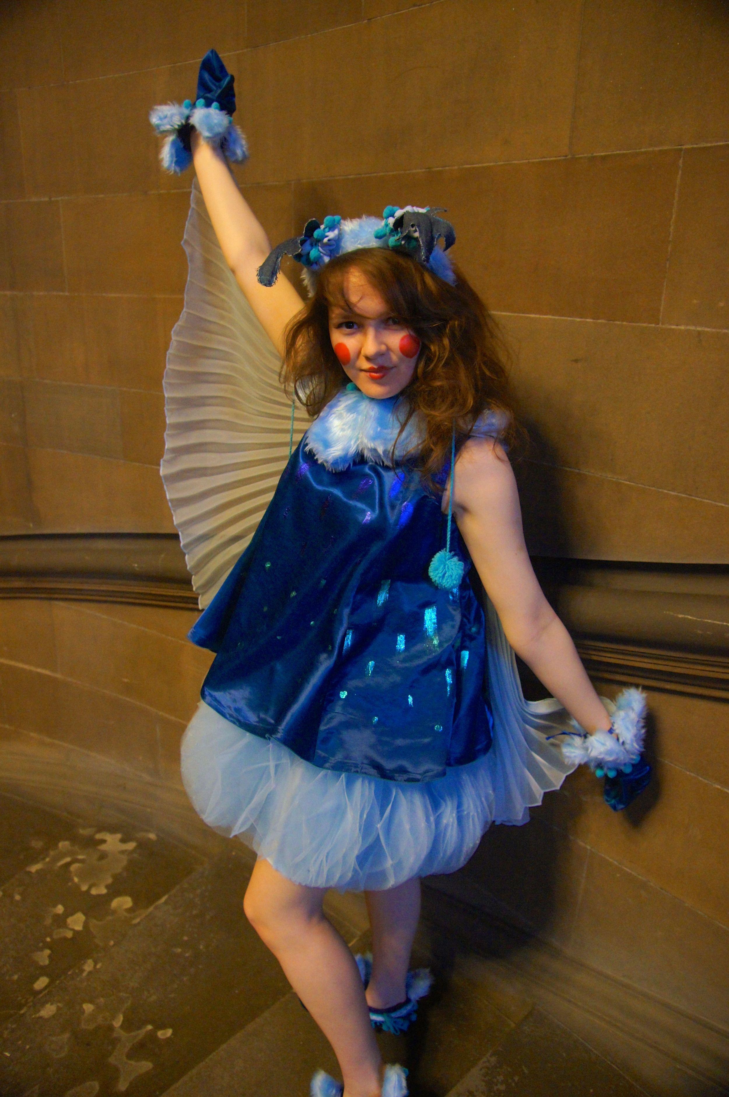Sniggle the Sky Squig costume