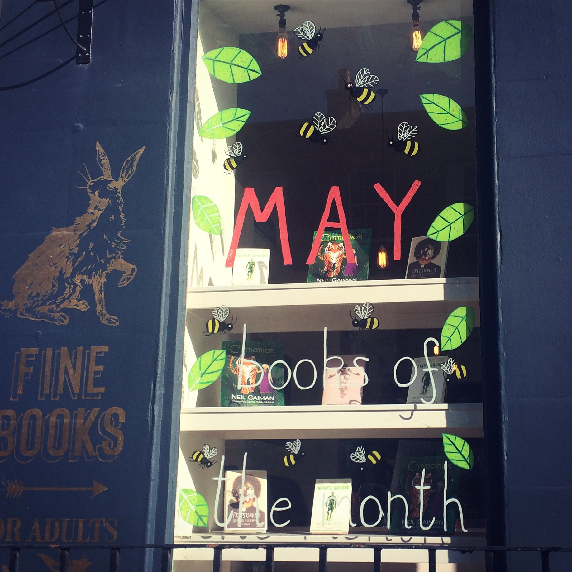 May Window 2017 at Golden Hare