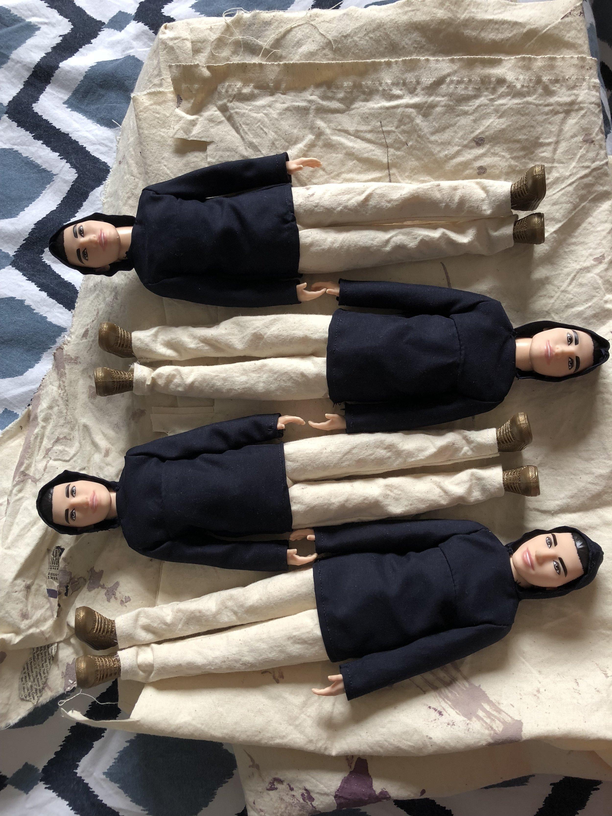 4 times a Ken doll