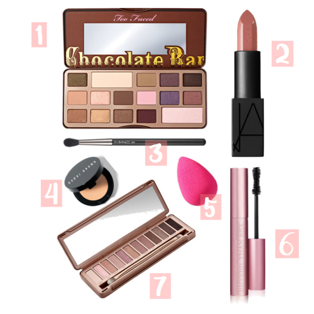 makeup wishlist // made with Polyvore