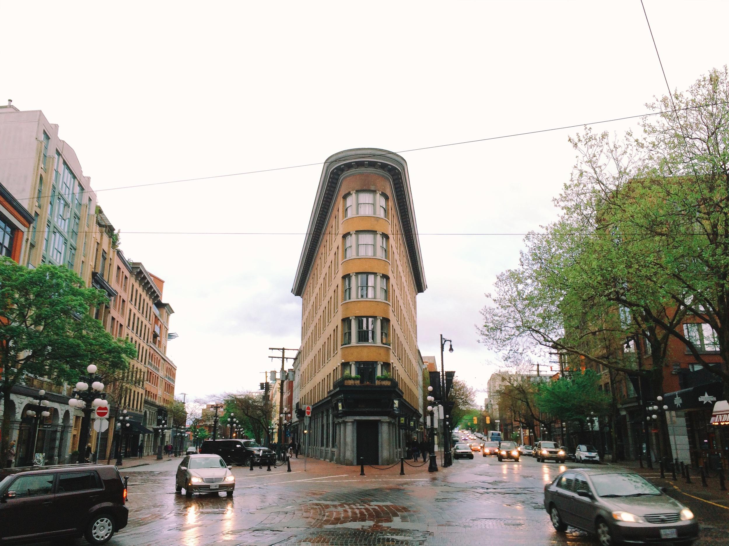 Vancouver's own Flatiron Building. HAHA