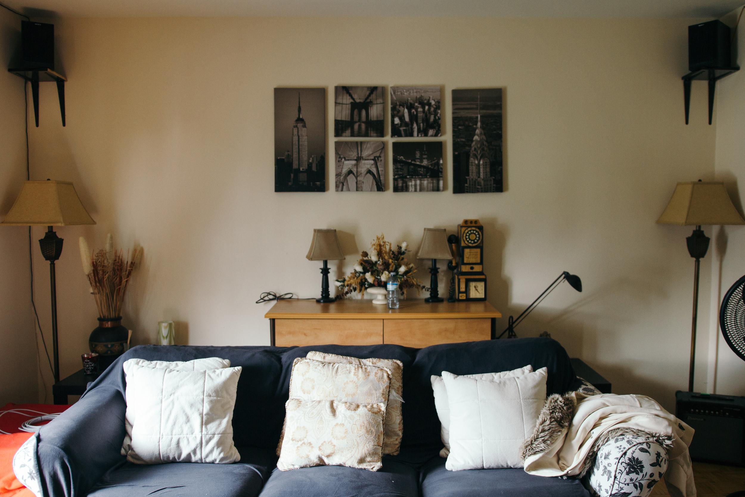 Their cute living room!