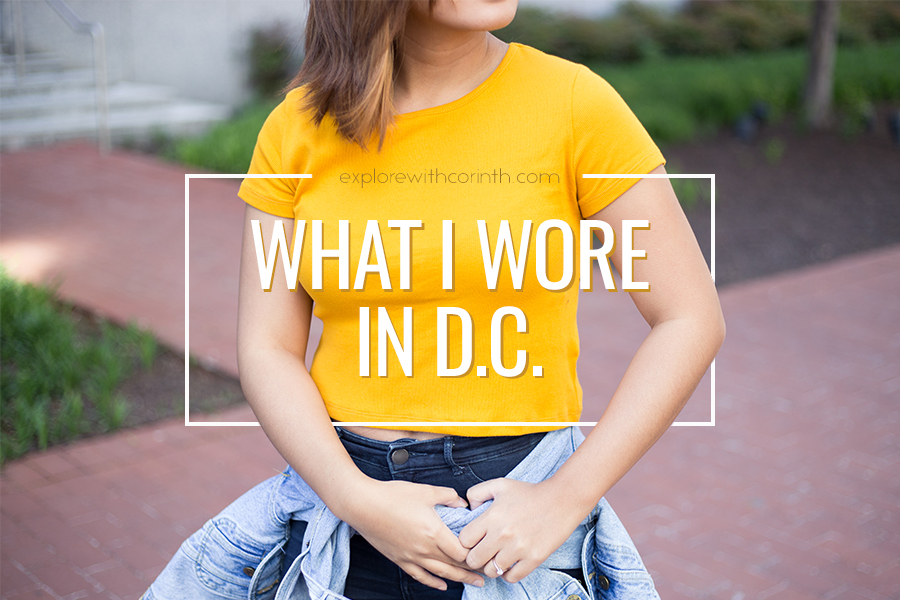 What I Wore in D.C. | ExplorewithCorinth