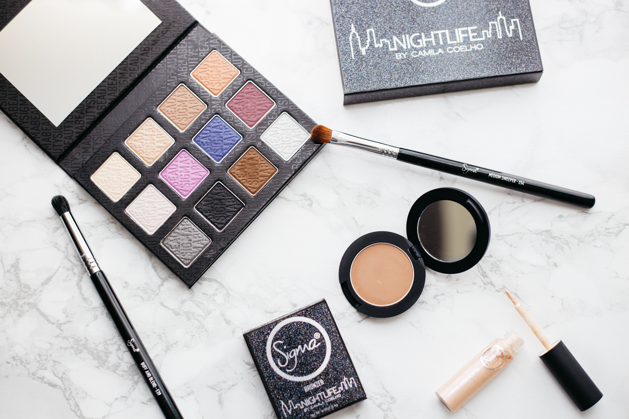 Sigma Beauty Nightlife Collection