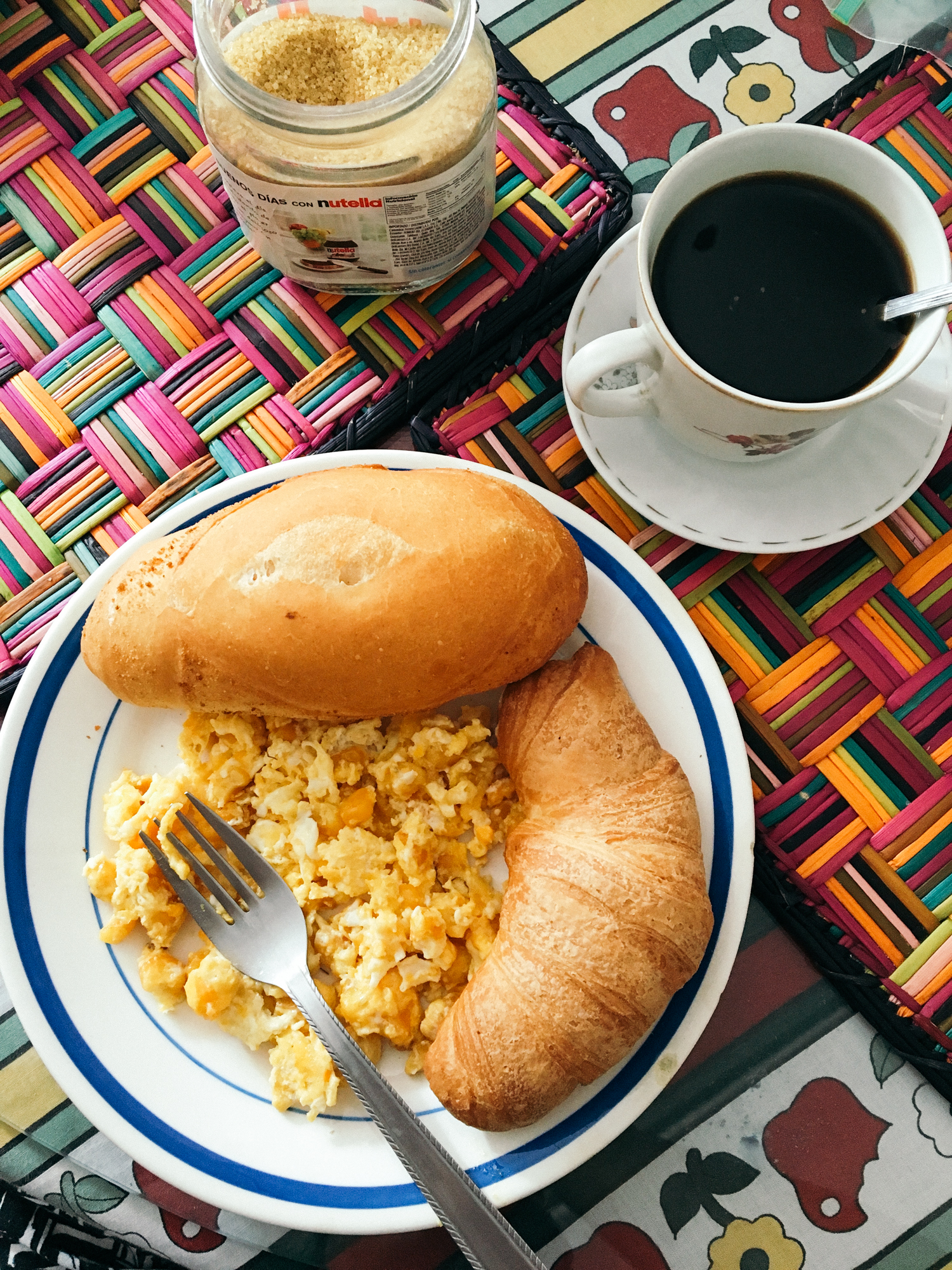 a typical Colombian breakfast