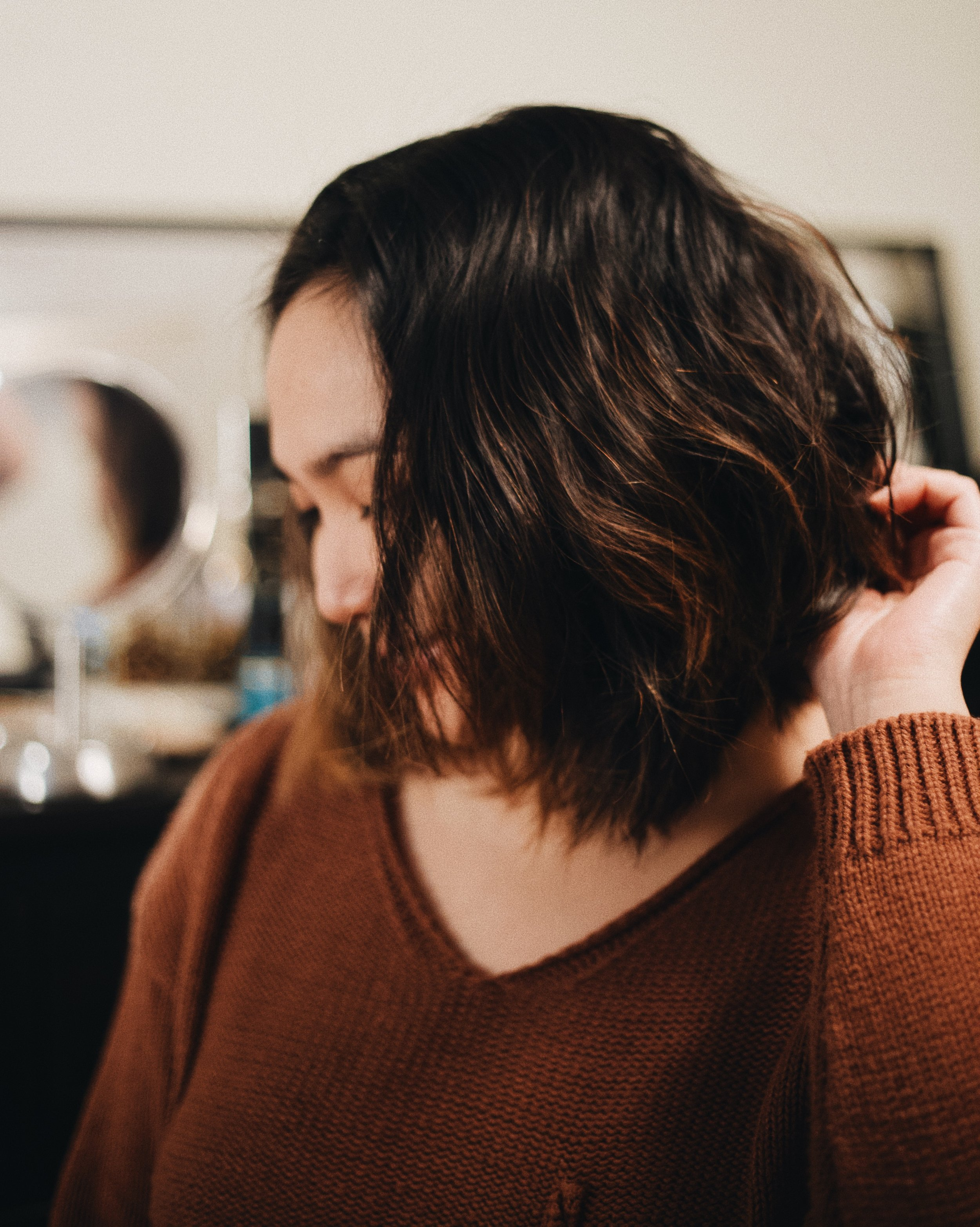 Easy No Heat Messy Waves For Short Hair With Tresemme Corinth Suarez Miami Florida Blogger Influencer