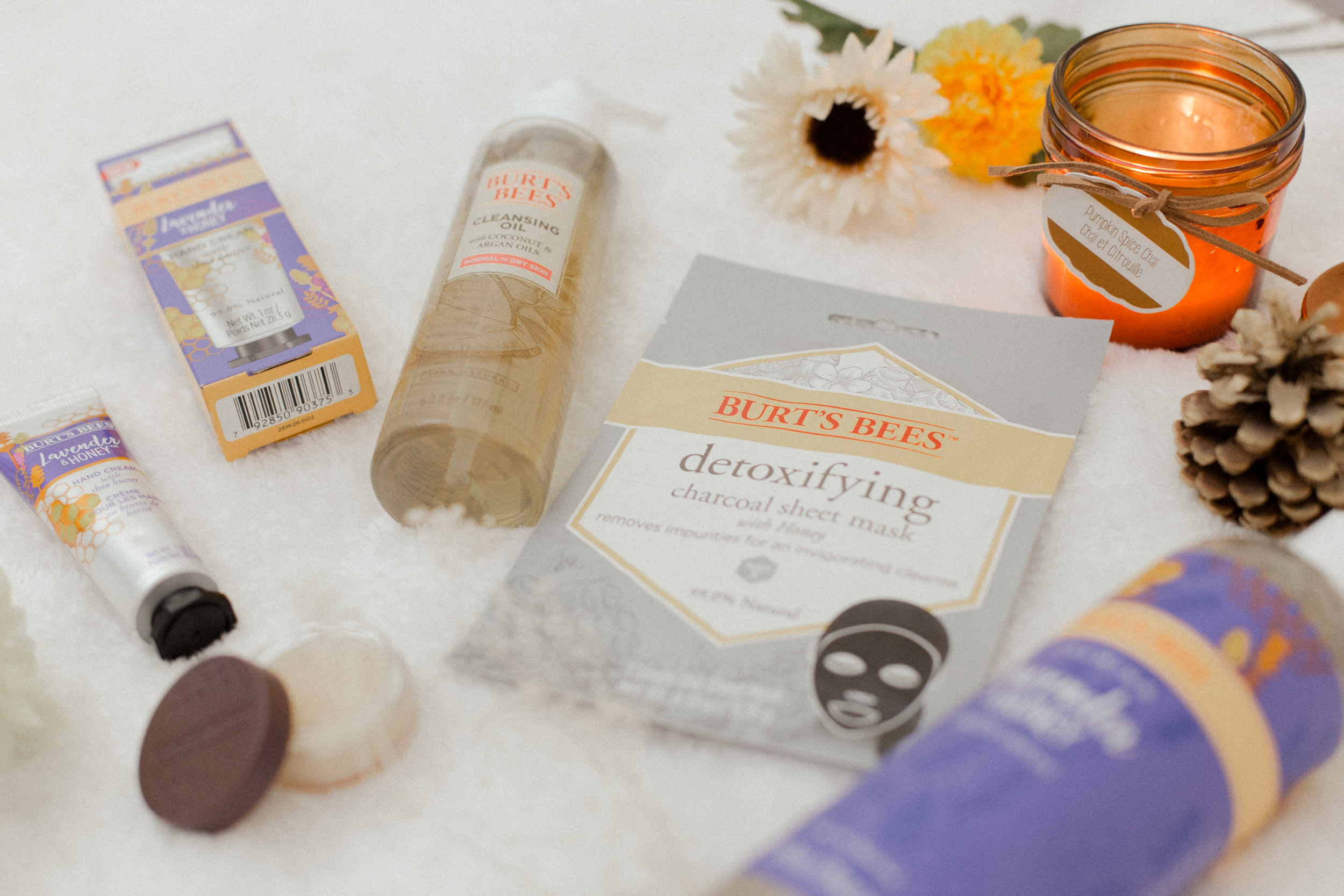 Enjoy A Spa Night at Home with Burt's Bees