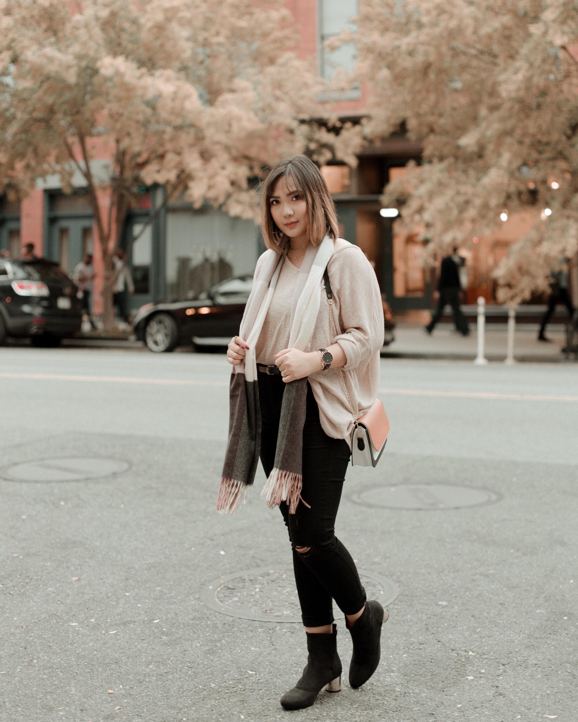 Thrift Store Diaries - Super Oversized Sweater
