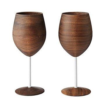 Wooden Wine Glasses