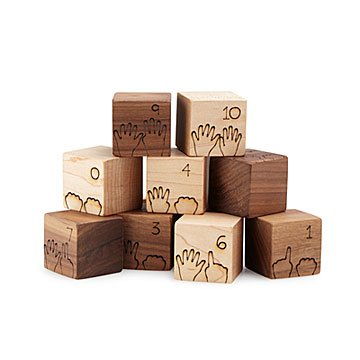Counting Hands Blocks