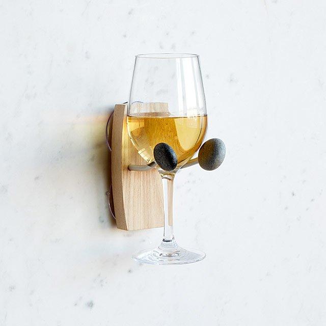 Bathtime Wine Holder