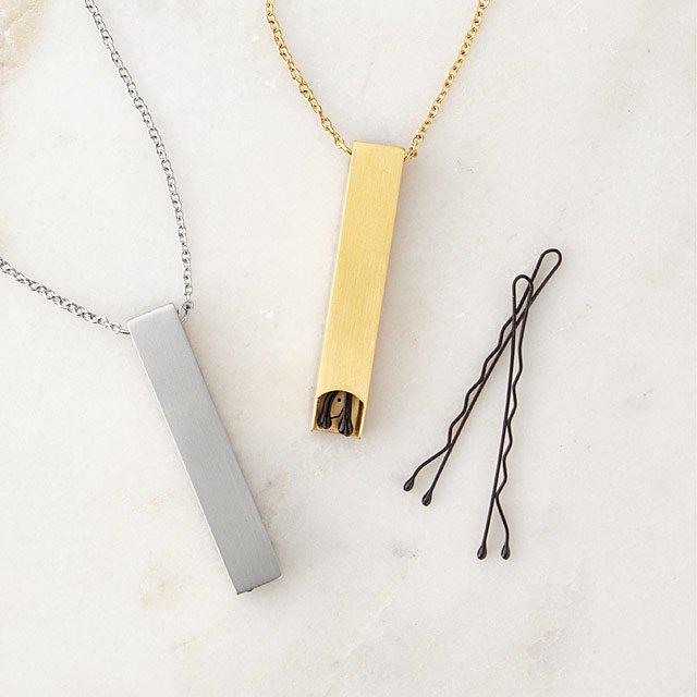 Bobby Pin Storage Necklace