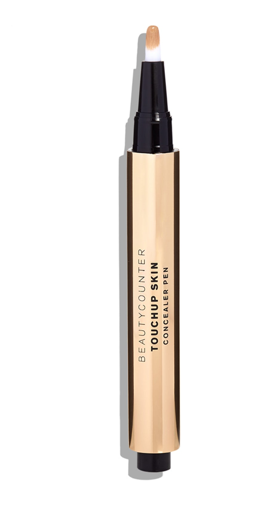 TOUCHUP SKIN CONCEALER PEN (SHADE: Medium 1) - This shade has a beautiful orange tone that I think works well in canceling out my dark circles, but I think I'll need to get another shade that's lighter to help with brightness. It has a semi-thick consistency so it has to be set.CONS: It's not crease-proof and I don't like the pen-style application.