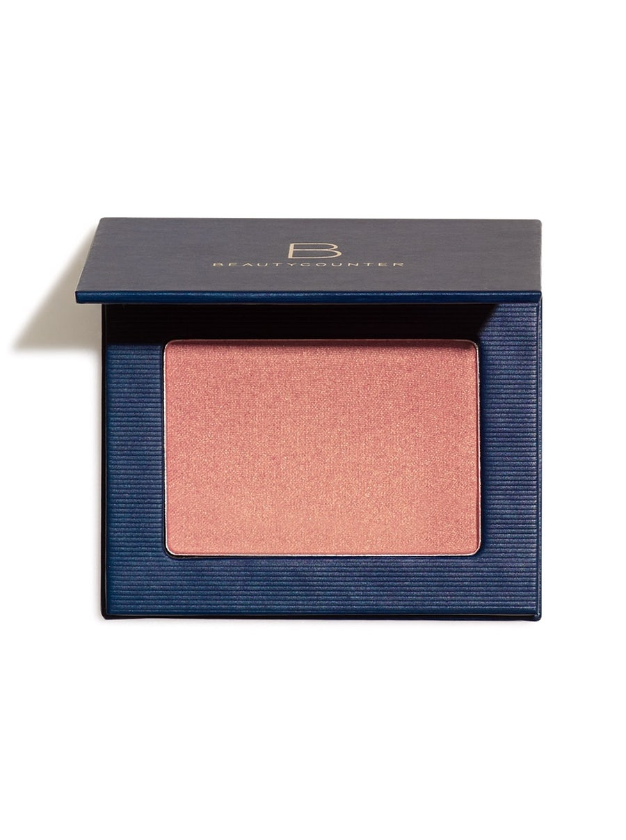 """SATIN POWDER BLUSH(SHADE: NECTAR) - This is one of my most favorite products for sure. I love this shade because it gives the most beautiful """"flushed"""" look, and it has a sheen that makes your cheeks glow! Excited to try their other shadesNO CON."""
