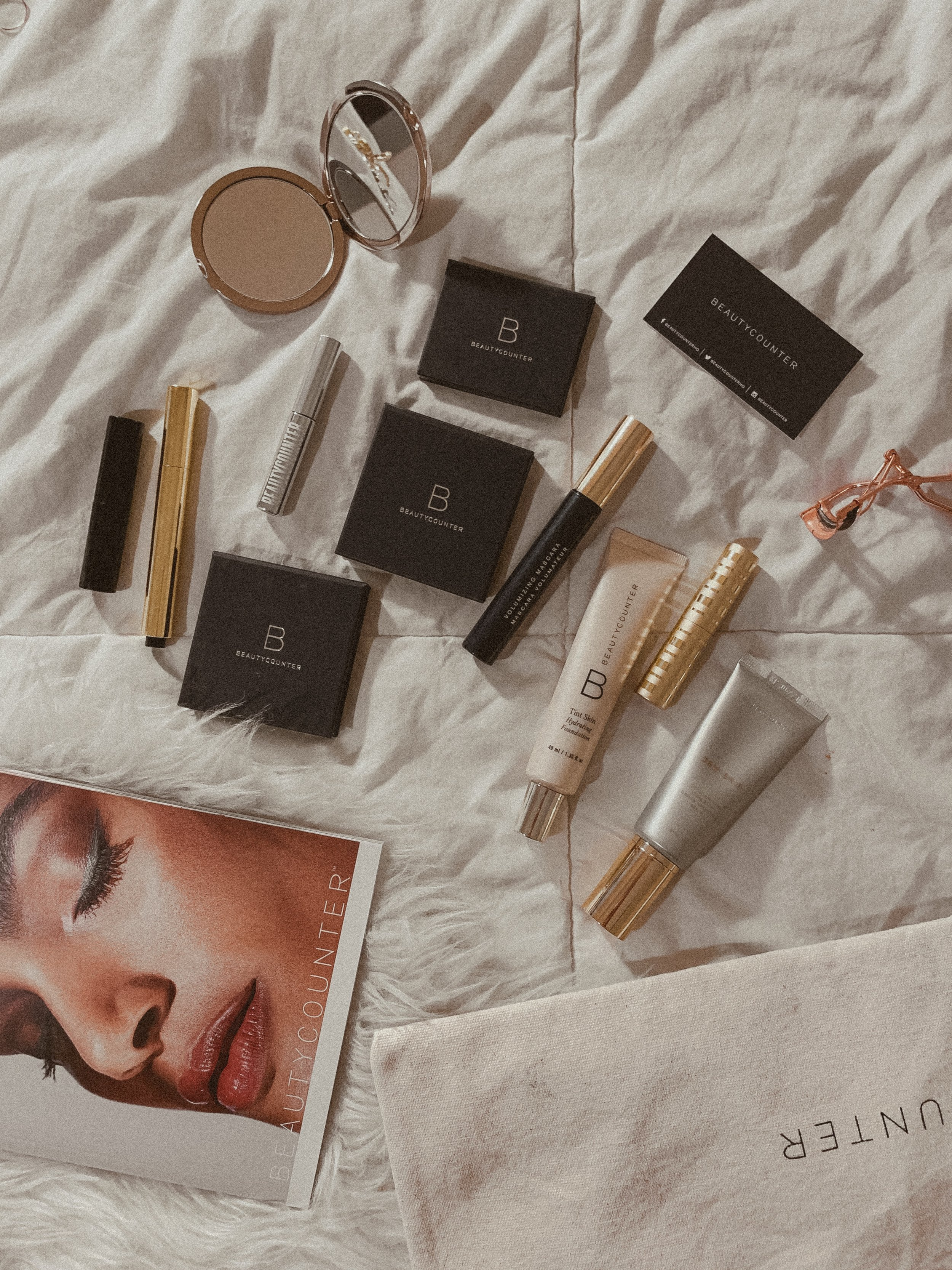 Clean Makeup Products I am Loving Now - Beautycounter