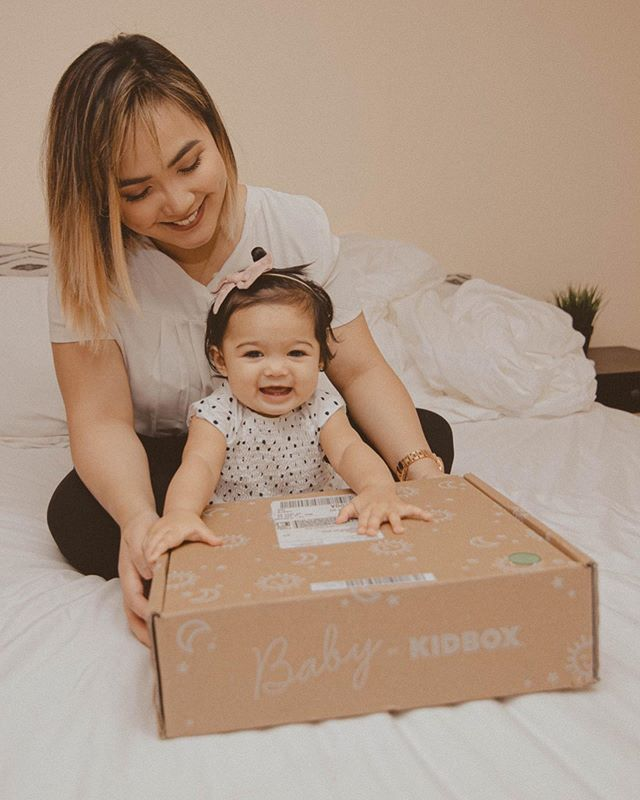 """Adeline received her first Baby box from @kidbox a few weeks ago and you can just tell how excited she was to open it! Scroll to see how Adeline styled her new clothes c/o #KidBox. WHICH ONE'S YOUR FAVORITE?? — Kidbox is the first personalized style box for kids and babies that provides a really convenient way for parents like myself to get the cutest clothes straight at their doorstep. It's a """"try before you buy"""" service so you decide on which items to keep at a discounted price. But, if you do decide to keep the entire box, Kidbox will donate an item of clothing to a child in need and you choose which charity to donate to! Don't you just love brands that give back?! #OneBoxAtATime  Get 15% off your fully kept box with the code CORINTHSUAREZ and check out my IG Story for more info and a swipe up link! #sponsored #unpackhappy #kidboxbff"""