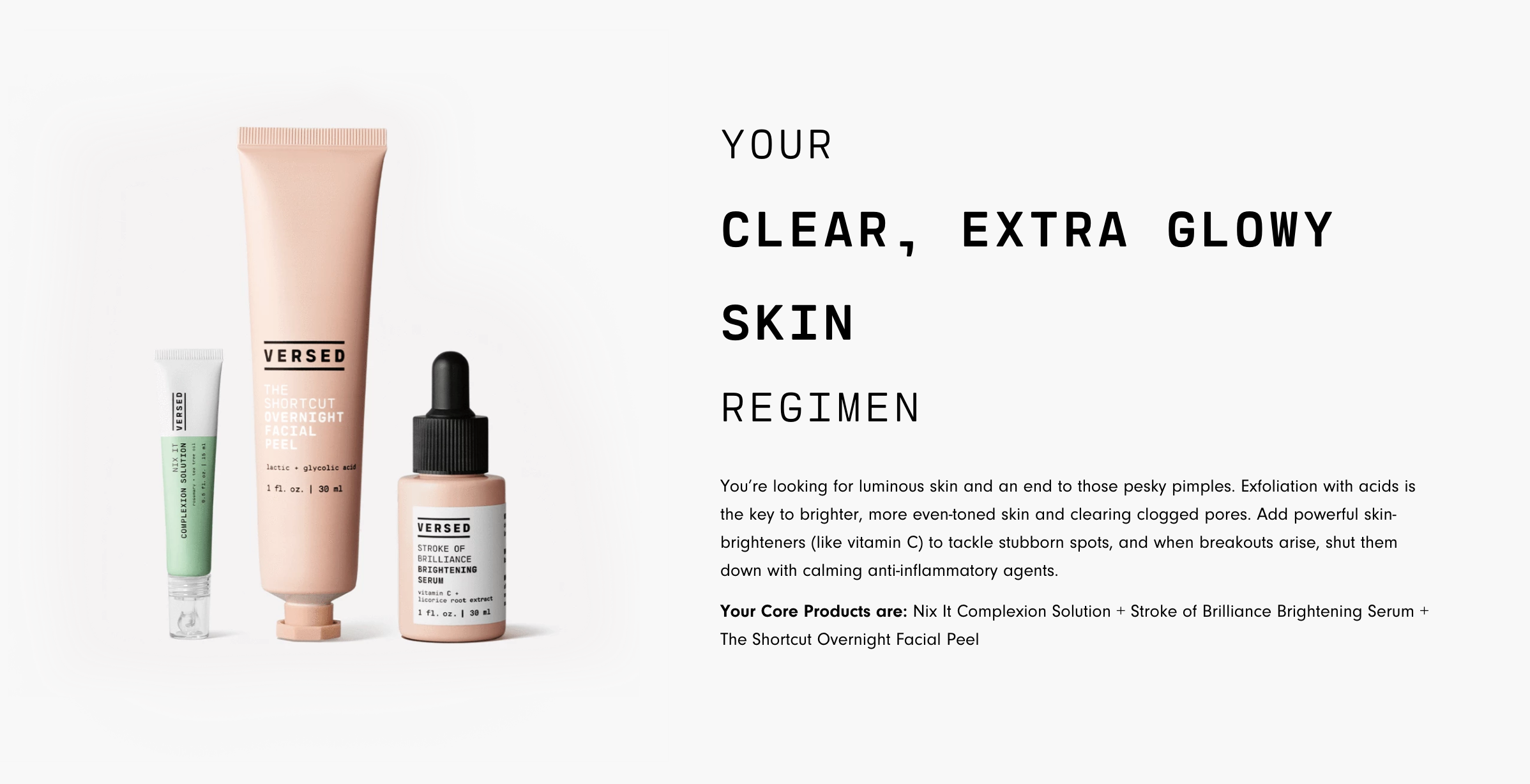 Versed Skincare Review - Clean and Non-Toxic Skincare
