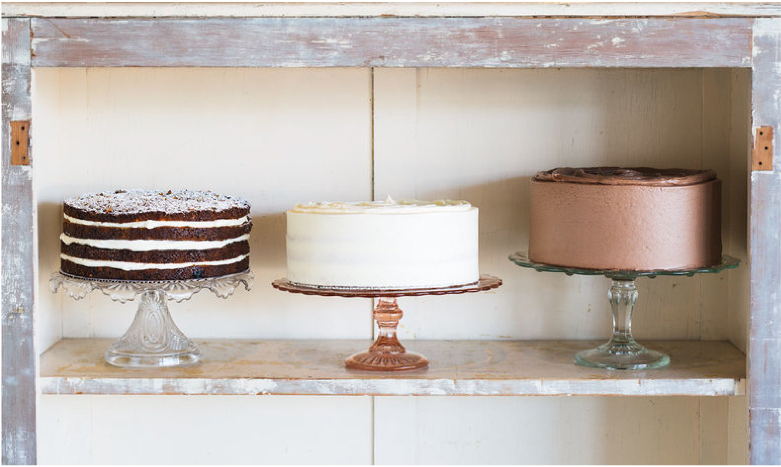 coyles bakeshop three cakes