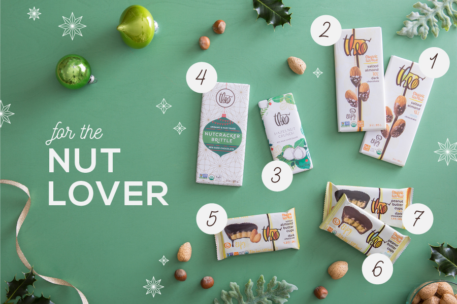 theo chocolate-holiday gift guide-products with nuts-nelleclark
