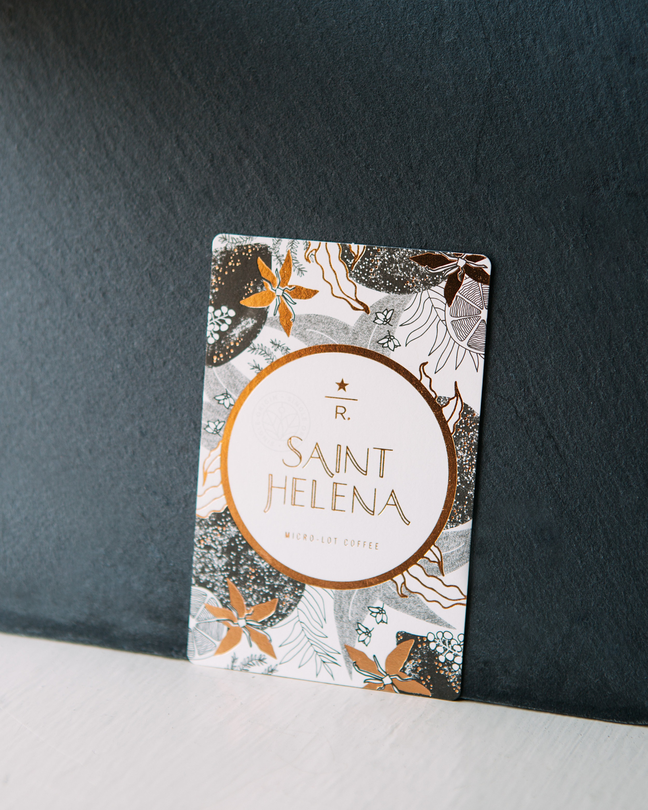 starbucks reserve coffee card design nelle clark