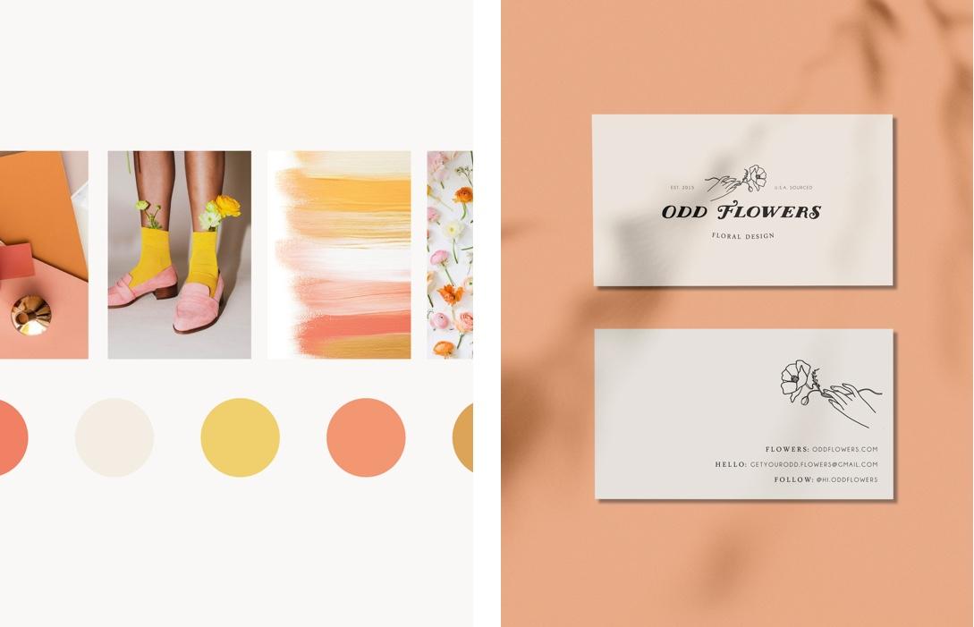 Odd Flowers Branding