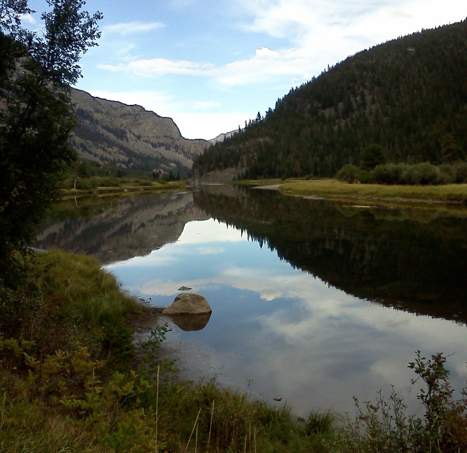 Lake Sioux Charlie September, 2013