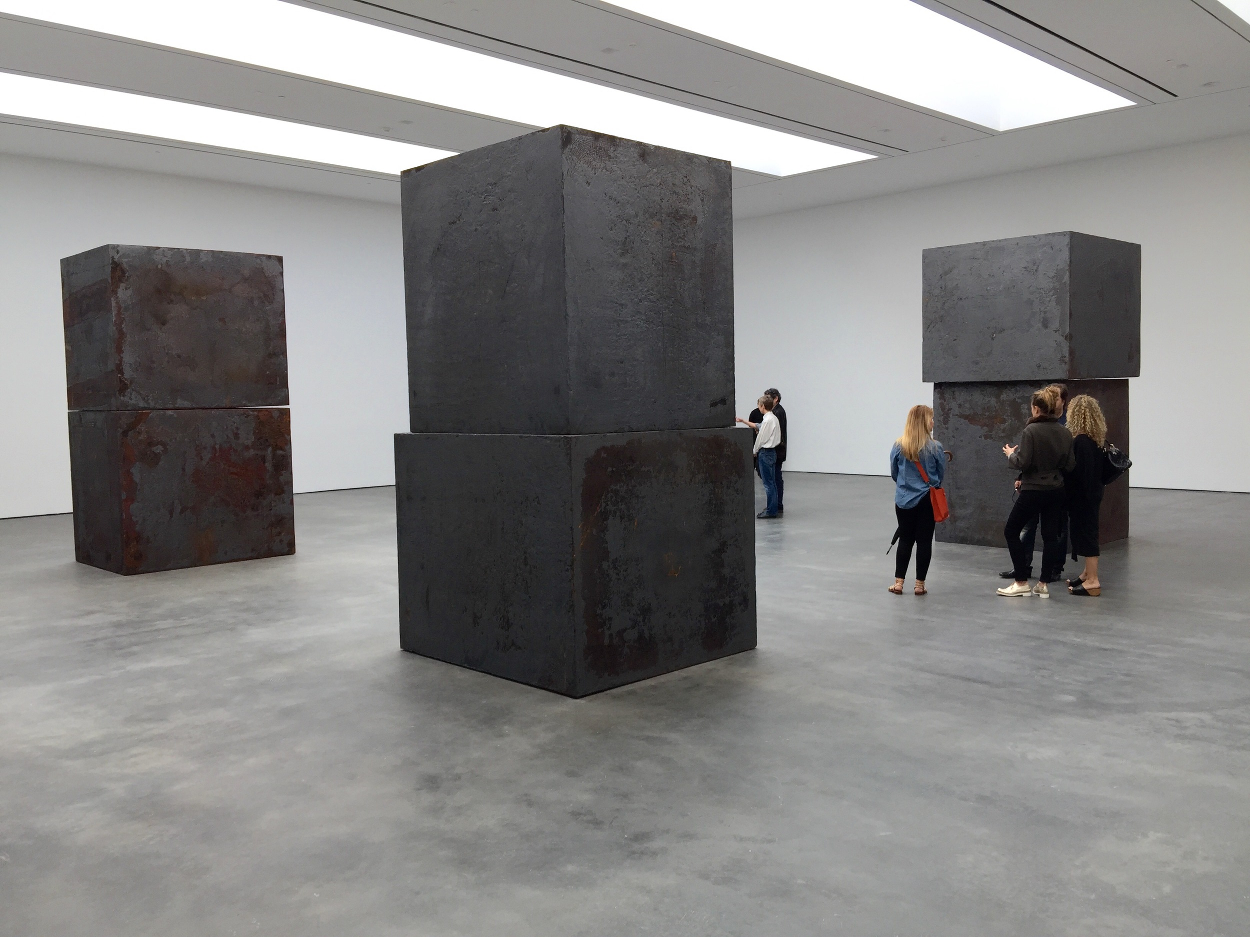 Richard Serra at David Zwirner