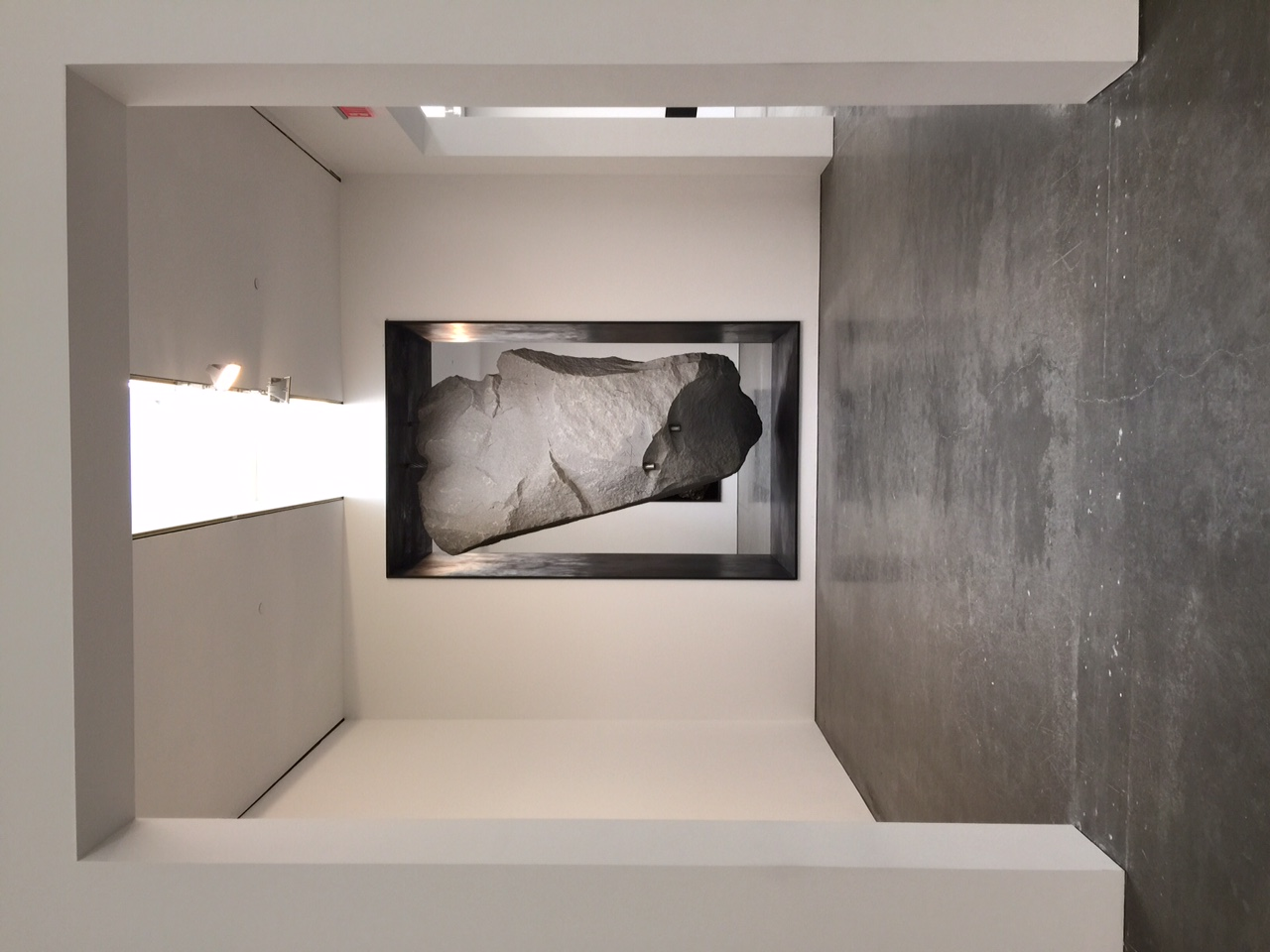 Michael Heizer at Gagosian Gallery