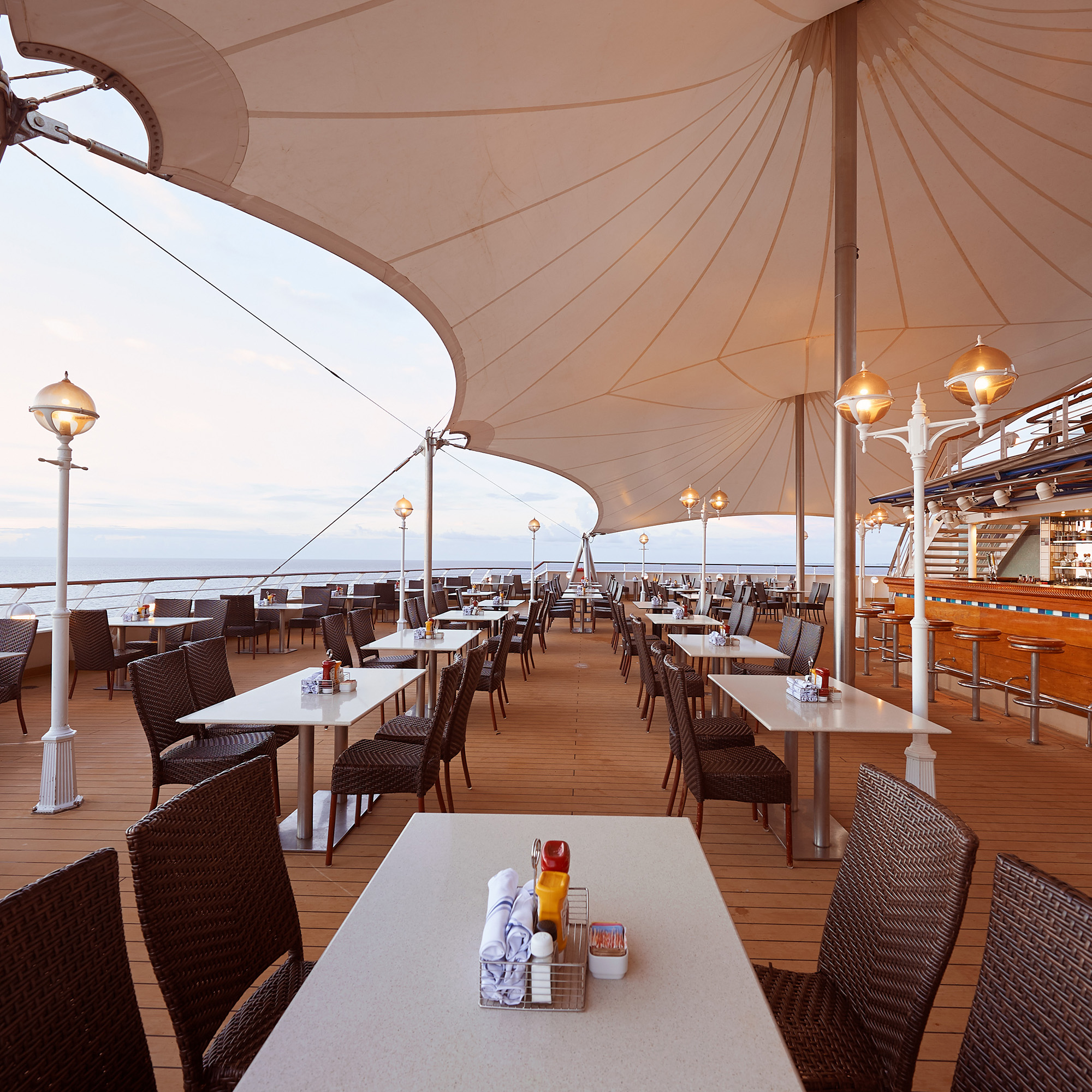 replenish & fortify - Enjoy the best service, dining, and lounges at sea! View Details here!