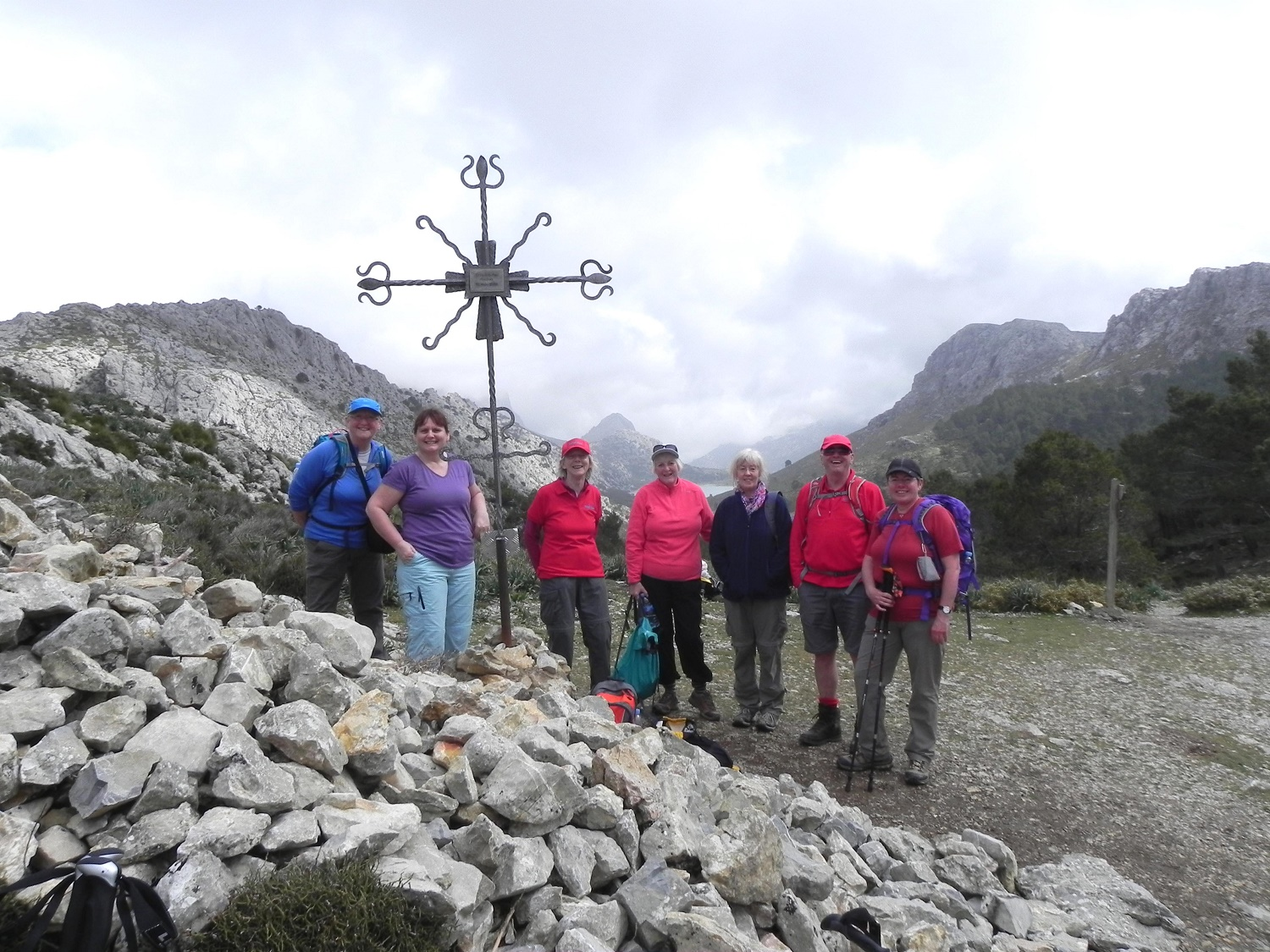 Great Circle Route, Route to L'Ofre Mountain, Mallorca Walks