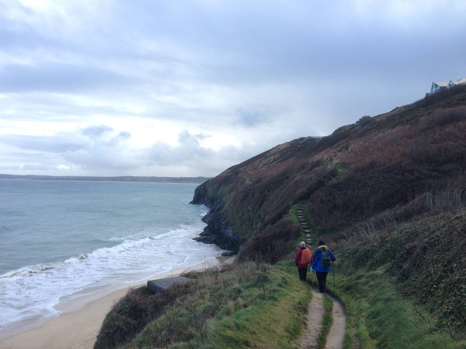 England Guided Walks & Gardens, Carbis Bay to Hayle, Great Circle Route (3872)