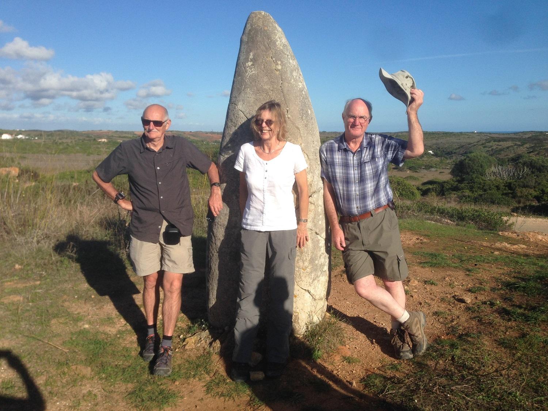 Great Circle Route Algarve Holiday - Menhir Fun