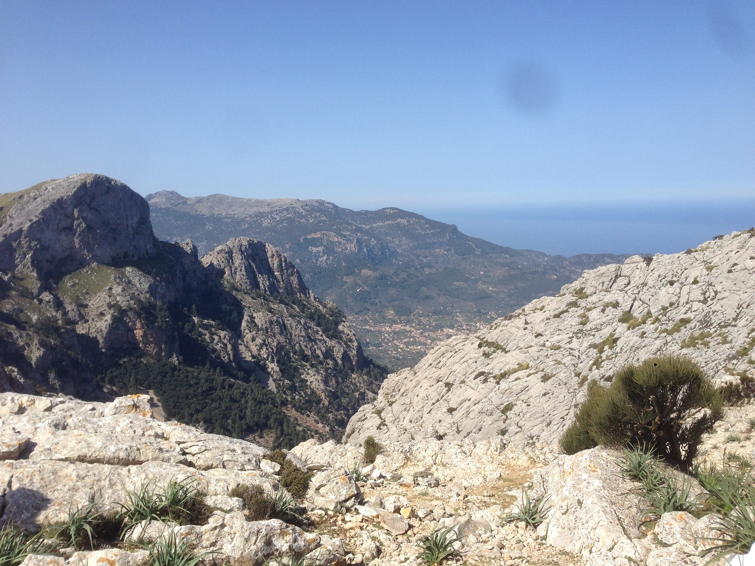 Great Circle Route, L'Ofre Views, Mallorca Walks
