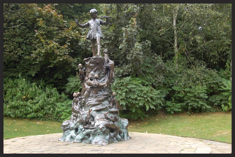 Peter Pan in Kensington Gardens, Great Circle Route Guided Walks & Gardens