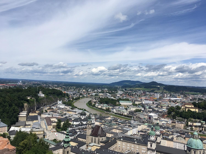 Great Circle Route, Salzburg, Austria