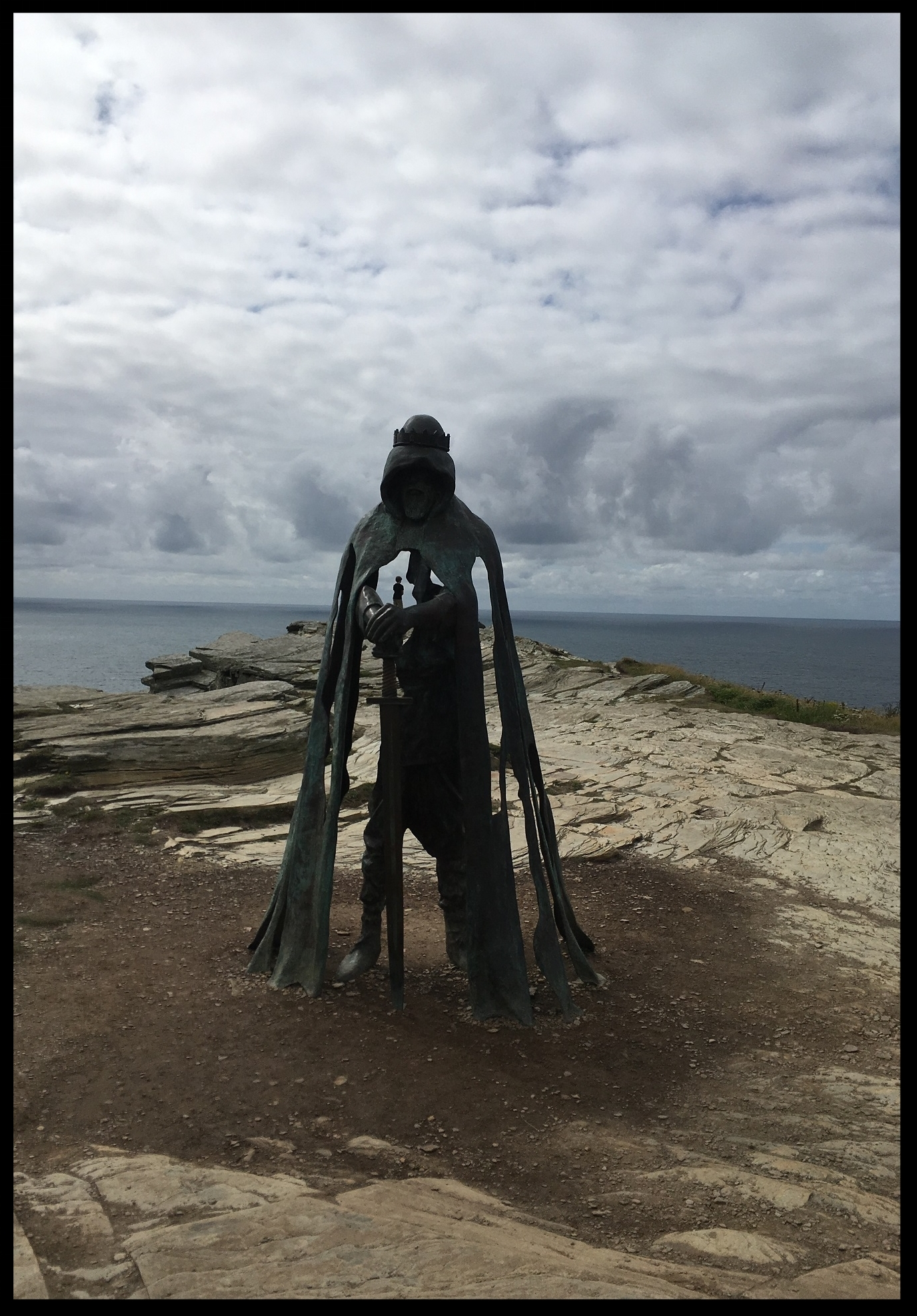 King Arthur at Tintagle Castle, Great Circle Route Guided Walks & Gardens
