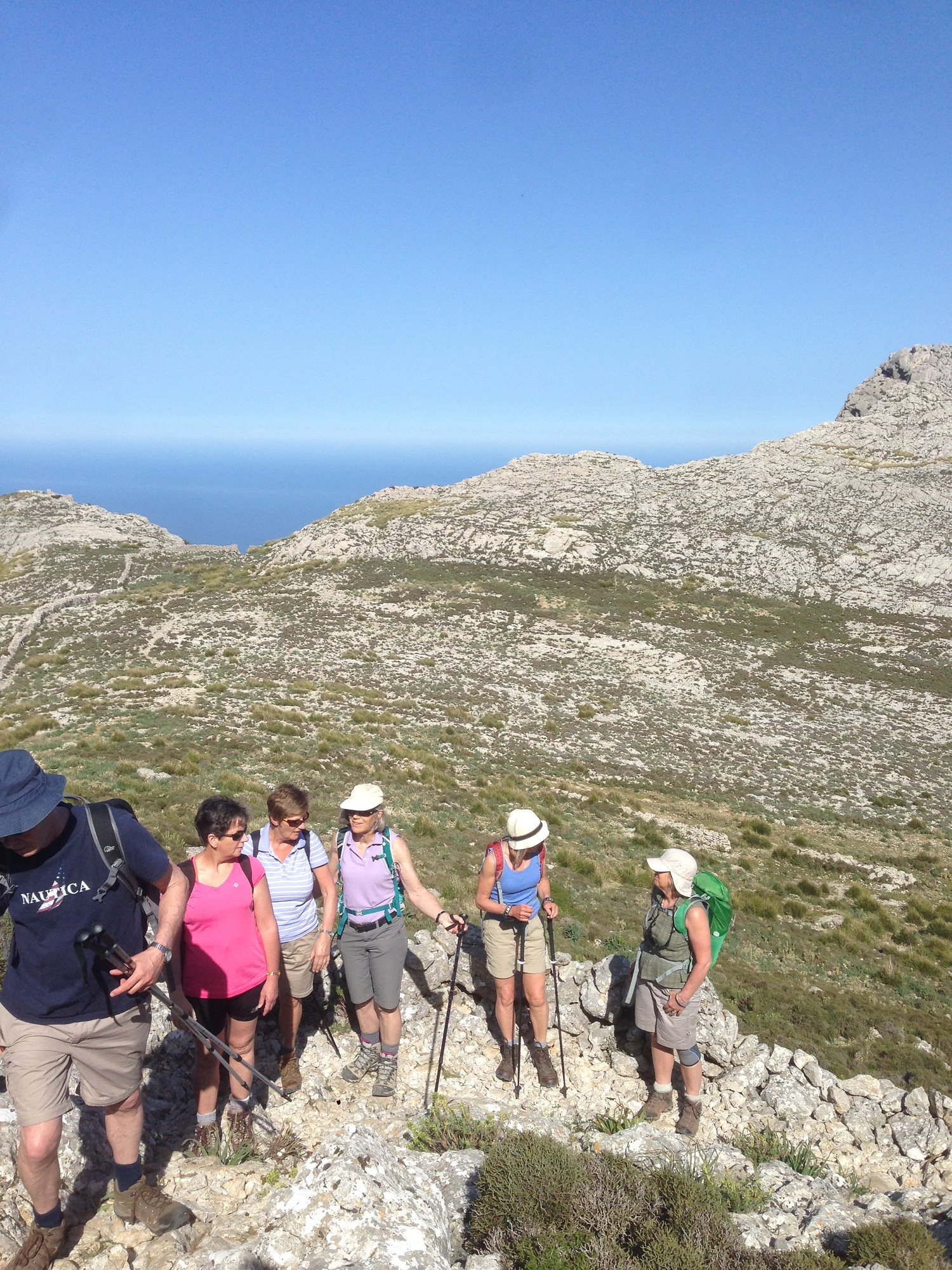 Walk to L'Ofre, Great Circle Route, Mallorca Walks