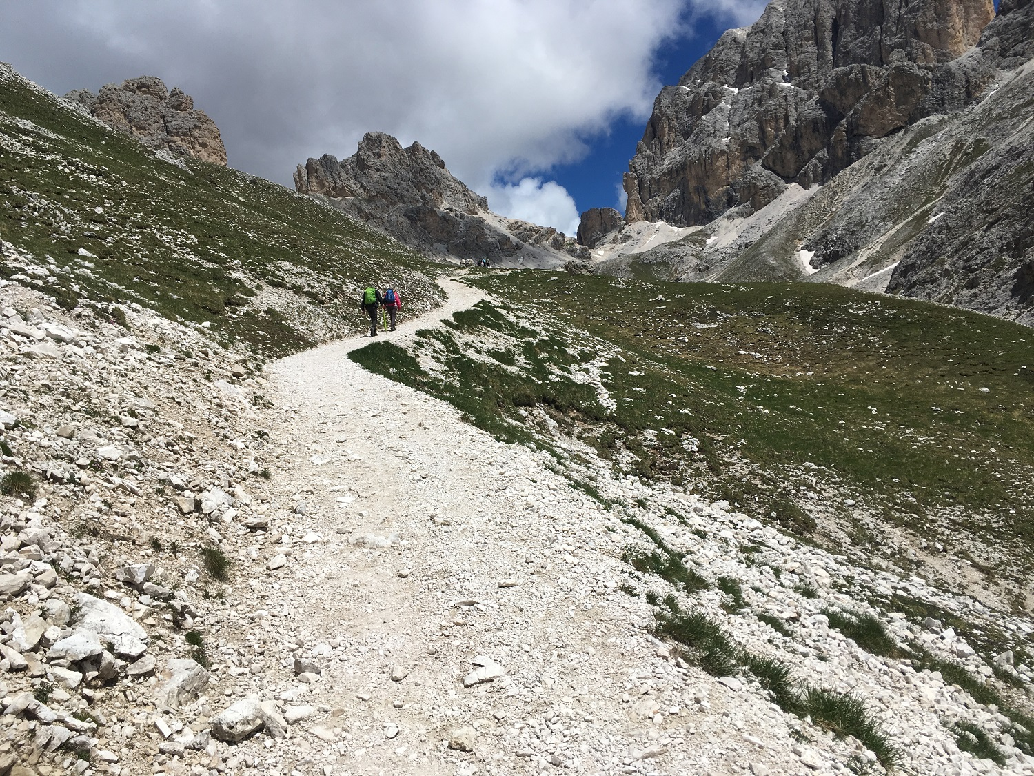 Great Circle Route, Dolomites Walks