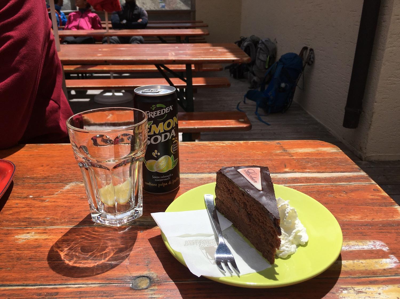 Cuisine Italian Alps, Great Circle Route