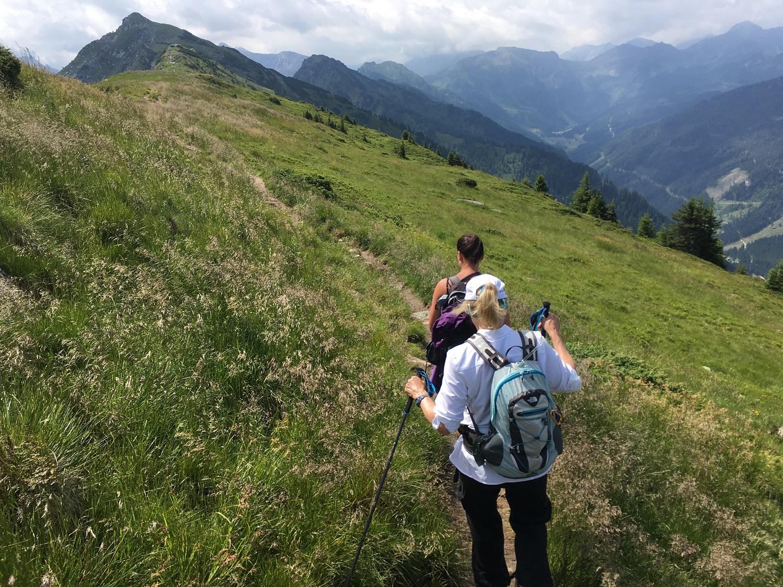 Great Circle Route, Austria Walks