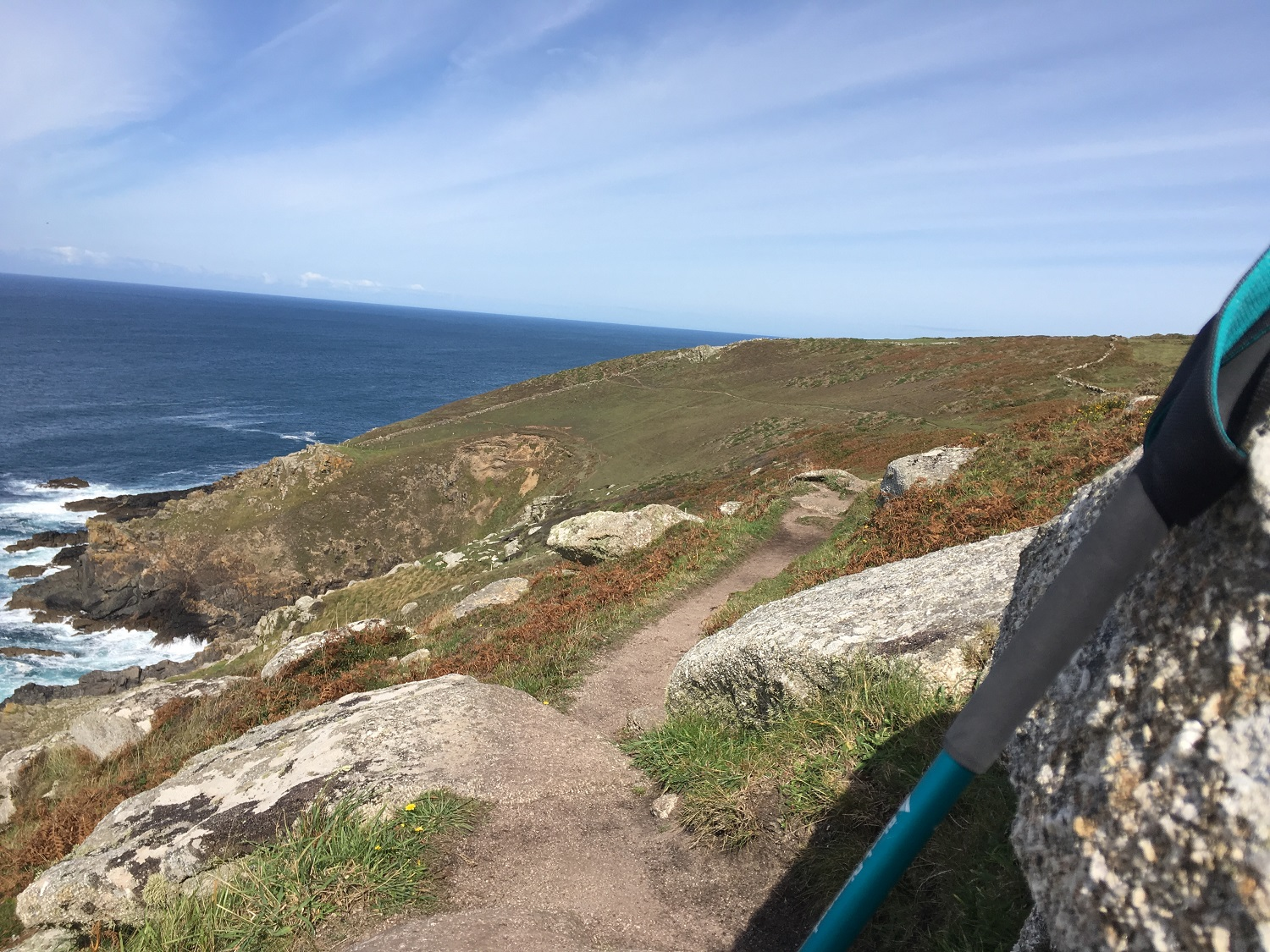 Great Circle Route, Cornwall & South West England Walks & Gardens, Along the Trail