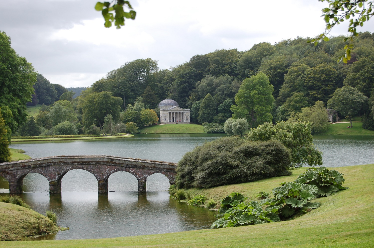 Great Circle Route, South West England Walks & Gardens, Stourhead Gardens