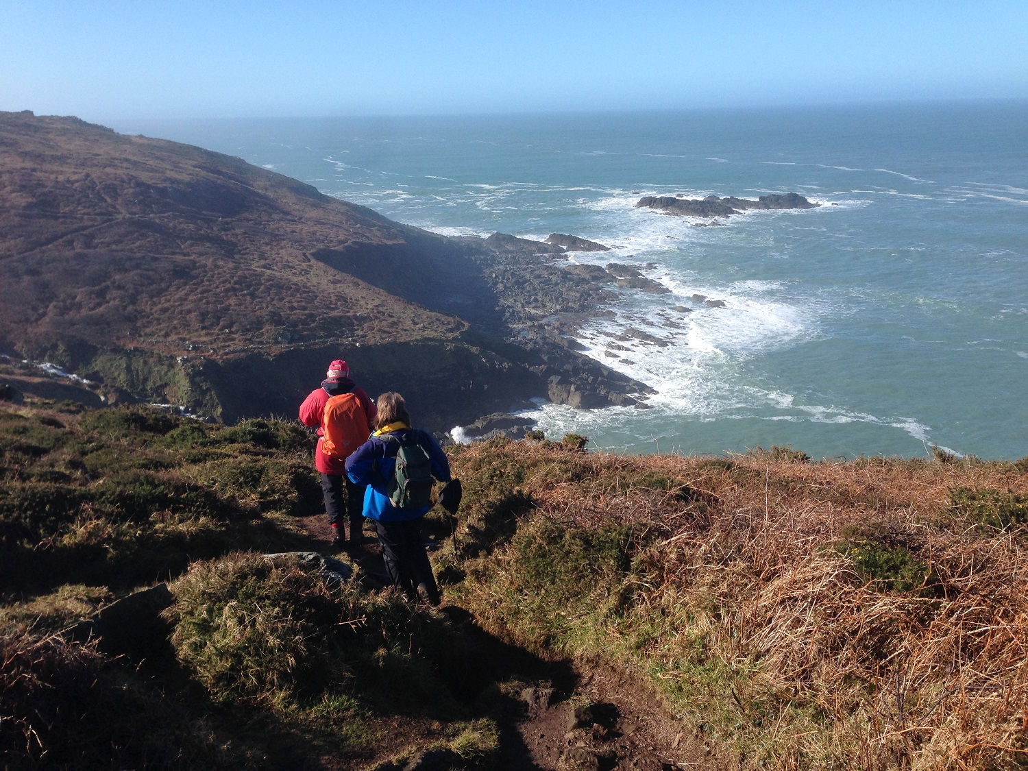 Great Circle Route, South West England Walks & Gardens, Near Zennor on the Coast Path