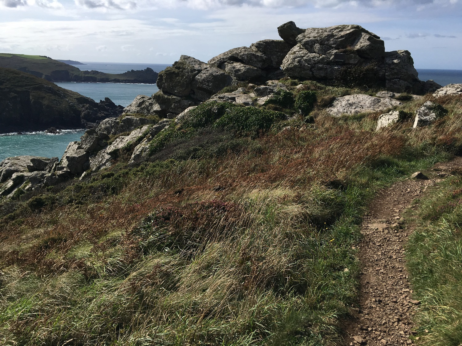 Great Circle Route, Cornwall & South West England Walks & Gardens, Zennor Head