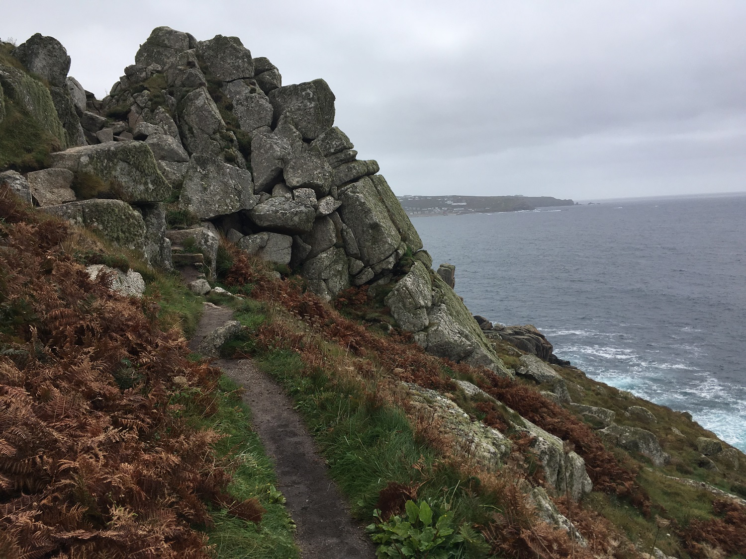 Great Circle Route, Cornwall & South West England Walks & Gardens, St Ives to Zennor Head